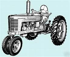Farmall International Harvester Tractor Manuals On Cd