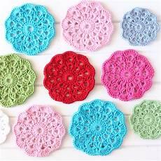 crochet coasters a spoonful of sugar