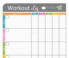 Bodybuilding Printable Logs 7 Best Images Of Basic Workout Logs Printable Printable