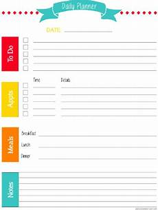 Week Month Planner Getting Organized One Day Week Month At A Time Free