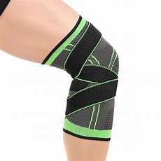 3d pressurized knee support compression sleeve style