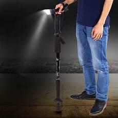 Light Walking Stick Anti Shock Telescopic Walking Hiking Stick With Led Light