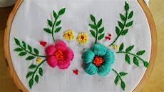 embroidery puffed satin stitch