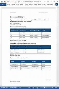 Product White Paper Template 15 X White Paper Templates Ms Word Templates Forms