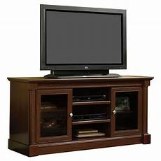 cherry tv stand entertainment center media storage console
