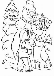 Malvorlagen Winter Gratis Winter 6 Malvorlagen Ausmalbilder