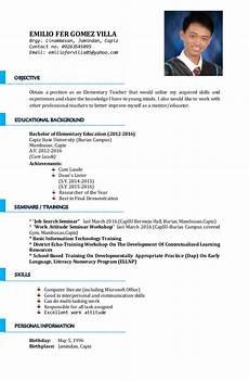 Resume Sample For Teaching Position Sample Resume For A Teaching Position