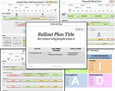 Powerpoint Project Plan Template Powerpoint Rollout Plan Template For Your Project Roll Out
