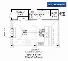 Floor Plans Free Pool House Plan 37 99 Garrell Associates Inc