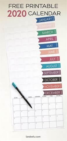 Write On Calendar 2020 2020 Free Printable Calendar To Keep You Organized