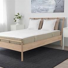ikea hidrasund pocket mattress wooden bed