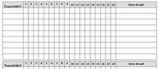 Basketball Possession Chart Template Football Drive Chart Barry Mcknight Sportscaster Life