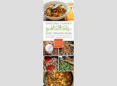 Ground Turkey with Potatoes and Spring Peas   Recipe