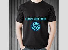 I Love You 3000 Arc Reaction Iron man Mother day shirt
