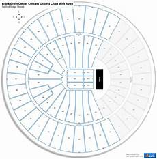 Frank Erwin Center Seating Charts For Concerts