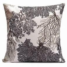 cotton linen soft decorative pillows cushion cover