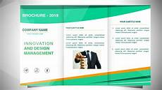 How To Create Template For Powerpoint How To Make A Brochure In Powerpoint Design 4 Youtube