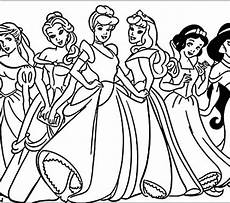 easy princess coloring pages at getcolorings free