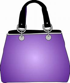 purple purse clip at clker vector clip