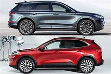 Ford Crossover 2020 by 2020 Ford Escape Vs Lincoln Corsair Corporate Cousins