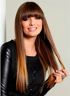 frisuren braune glatte haare lange glatte haare sind immer im trend