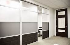 glide doors with frosted solid color wood laminate