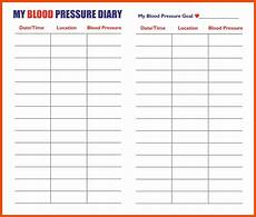 Charting Blood Pressure Readings Excel Blood Pressure Monitoring Chart Printable Template