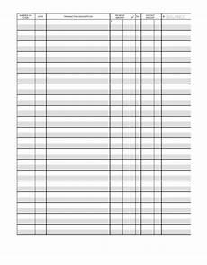 Printable Checkbook Register 37 Checkbook Register Templates 100 Free Printable