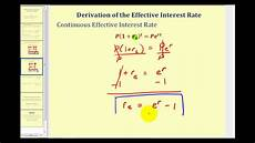 Annual Interest Rate Effective Interest Rate Effective Yield Youtube