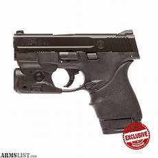 Smith And Wesson M P Shield 9mm Light Armslist For Sale Smith And Wesson M Amp P Shield 9 With
