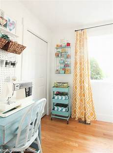 How To Organize A Small Bedroom How To Organize A Craft Room Work Space The Happy Housie