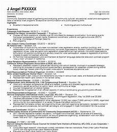 Political Resume Examples Campaign Field Director Resume Sample Director Resumes
