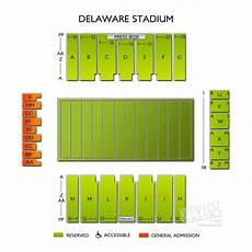 Ud Football Stadium Seating Chart Delaware Stadium Seating Chart Vivid Seats