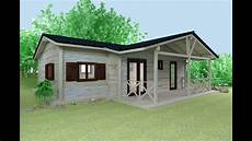 wooden house 3d elevation cabin house plans and design