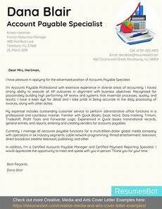 Accounts Payable Cover Letters Accounts Payable Specialist Cover Letter Samples