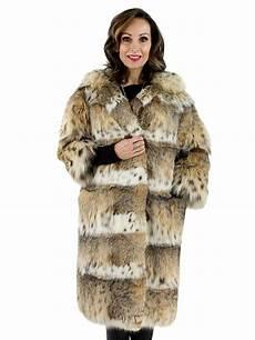 cat lynx fur 7 8 coat sleeves length great color