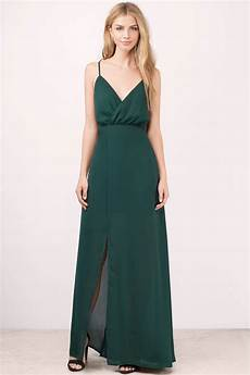 green dress strappy dress forest green maxi dress