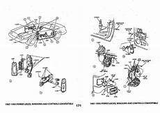 1979 93 Ford Mustang Fox Body Exploded View Illustrated Manual