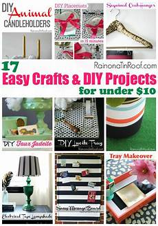 17 easy crafts and diy projects for 10