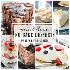 best no bake dessert recipes healthy easy