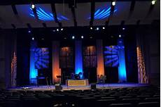 Different Stage Designs Four Square Church Stage Design Ideas
