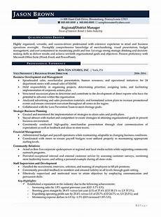Regional Manager Resume Examples Retail Resume Examples Resume Professional Writers