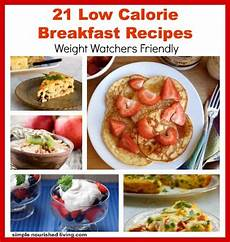 low calorie breakfast recipes with weight watchers points
