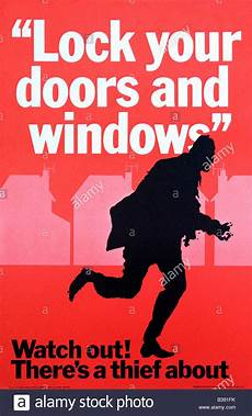 Crime Poster Design Watch Out There S A Thief About Original Crime Prevention