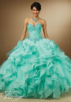 organza skirt quinceanera dress style 89056 morilee