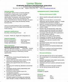 Business Development Executive Resume Free 8 Sample Business Development Executive Resume