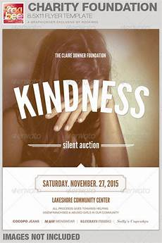 Charity Event Flyer Templates Free Charity Foundation Event Flyer Template By Rockibee