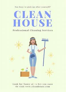 Cleaning Flyer Samples Free Online Flyer Maker Design Custom Flyers With Canva