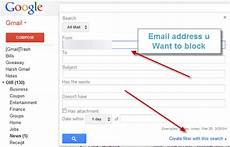 Blocking Emails How To Block Email Address In Gmail