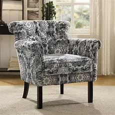 paisley accent chair barlowe paisley print accent chair by homelegance